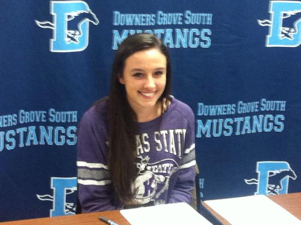 Amanda Thate signs with Kansas State